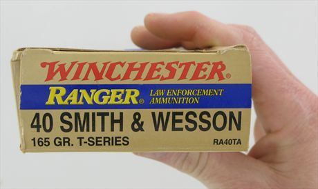 Winchester RA40TA .40S&W 165gr Ranger T-Series Box of 50 NO Reserve for sale on GunCycle
